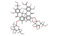 SBJ-I0389番泻苷C标准品,CAS:37271-16-2