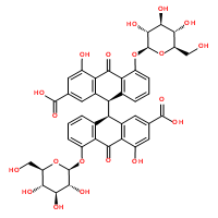 SBJ-I0387番泻苷A标准品,CAS:81-27-6