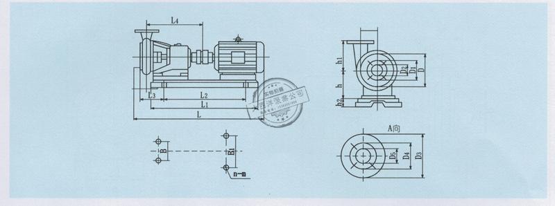 液动机械手结构简图