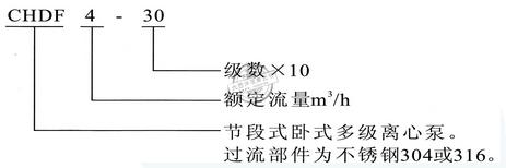CHDF型号意义
