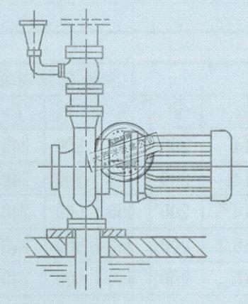 竖式抽送水用