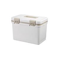 医用/疾控中心专用便携式疫苗冷藏箱价格,供应可装温度显示器的手提式疫苗保温箱运输箱12升