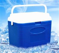 台州2-8度干扰素药品保存运输箱27L,快递生鲜海鲜食物保冷配送箱价格,野外野餐钓鱼保温箱