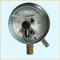 YXC-100NB不锈钢耐震磁助电接点压力表
