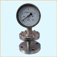 YTP-150MG隔膜压力表(工字法兰型)